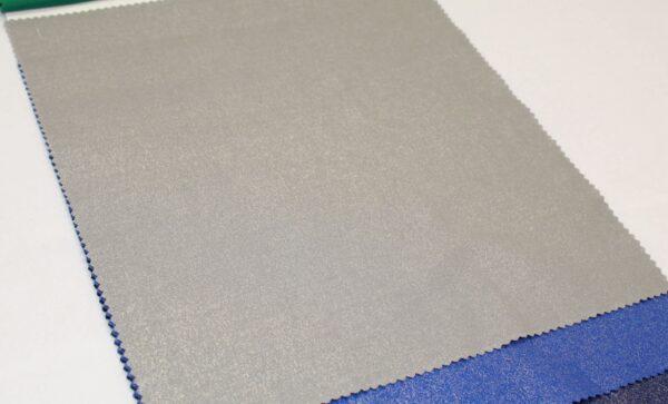 Plain silver grey K35F32 metallic sparkle fabric