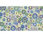 Carnaby 948B Paradise Petals Daydream Green Purple by Liberty Fabrics