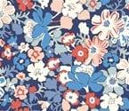 Carnaby 947A Westbourne Posy Indigo Blue by Liberty Fabrics