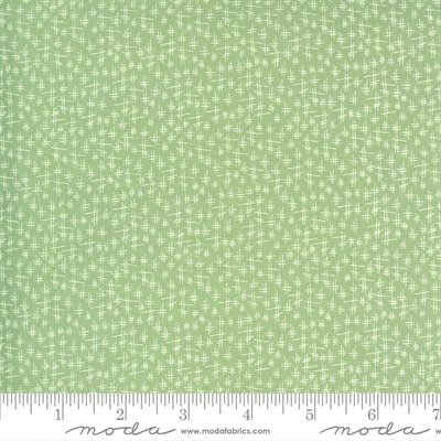 Break of Day 4310416 Meadow Crosshatch Light Green by Sweetfire  for Moda fabrics