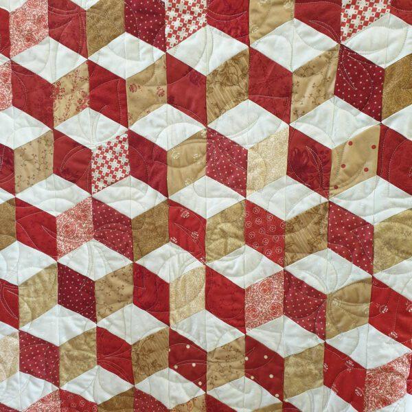 Tumbling Blocks by machine workshop – 6th Nov