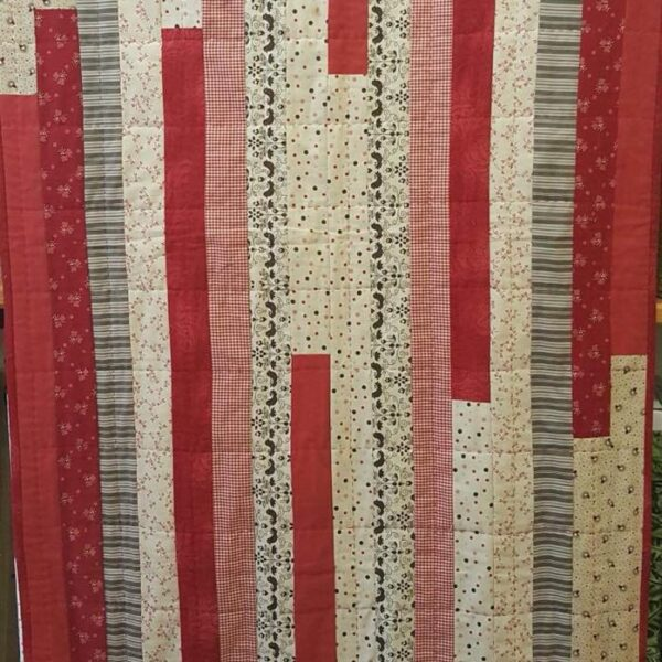 Jelly Roll Strippy Quilt Workshop – 24th Oct