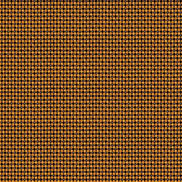 Midnight Haunt 9785KO Clamshells Persimmon Orange fabric by Makower