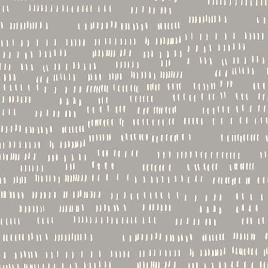 Dash 9173C Concrete Grey White Lines fabric by Andover