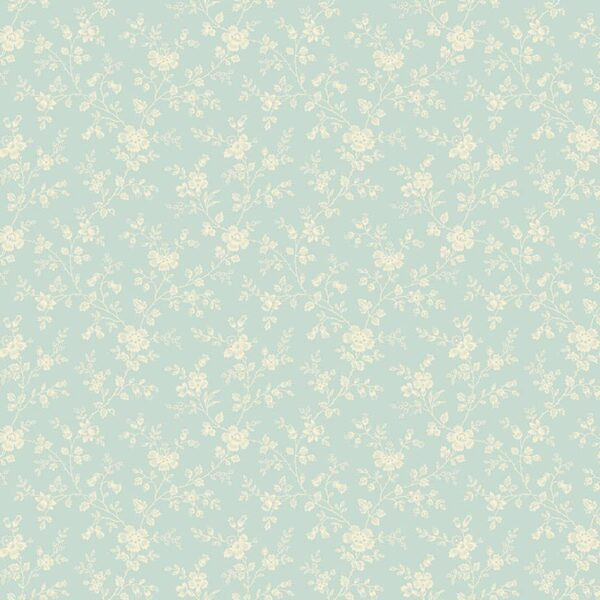 Bluebird 9841LB Forget Me Not Blue fabric by Edyta Sitar for Laundry Basket Quilts