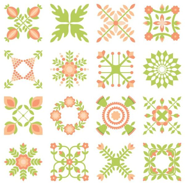 Apricot and Ash 5″ Charm pack by Corey Yoder for Moda fabrics