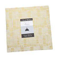 Whispers Metallic Half Layer Cake 20 x 10″ Squares  Black White Gold by Moda fabrics