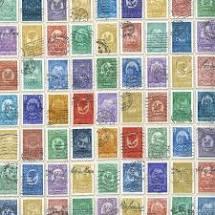 Flea Market Fresh Stamps 7347311 Multi Fabric by Moda
