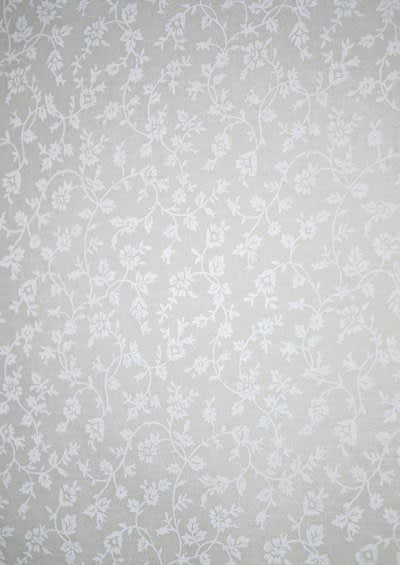 36241 White Tone on Tone Ditsy Sprig by Kingfisher fabric