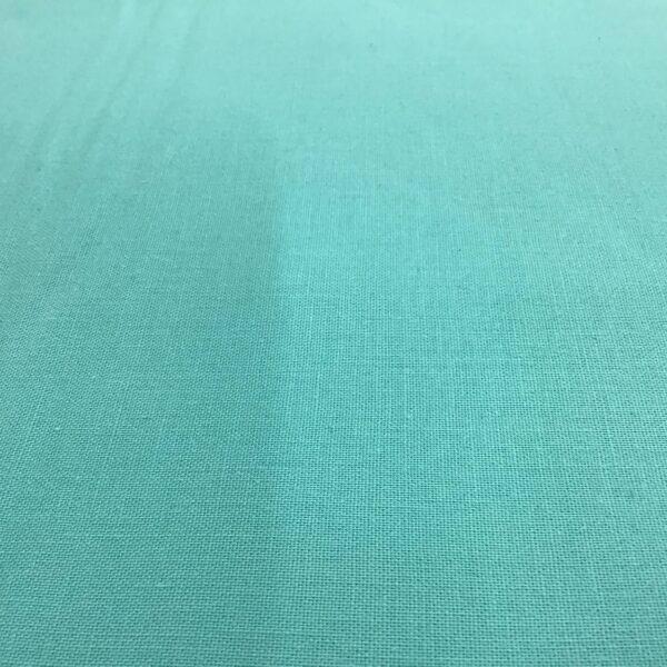 2000T24 Aqua plain solid fabric by Makower